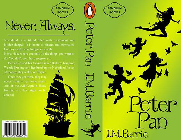 Peter Pan Book Covers Peter Pan Book Cover Text