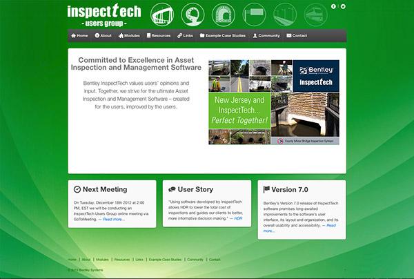 InspectTech Users Group Website