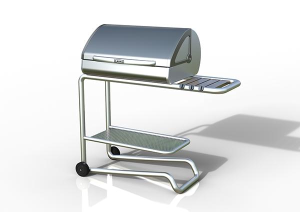 Portable Braai Stand Designs : Cadac budget braai stand with ideso on behance