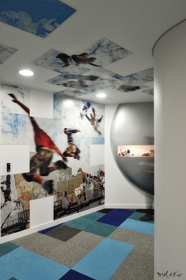 mel et kio wall design design mural bouygues Bouygues Telecom