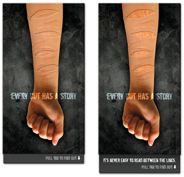 Self Harm Awareness: Self-Injury Awareness Campaign On Behance