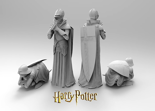 harry potter and the stone stone us scans from the fullsized chess pieces the queen stood around 8ft tall