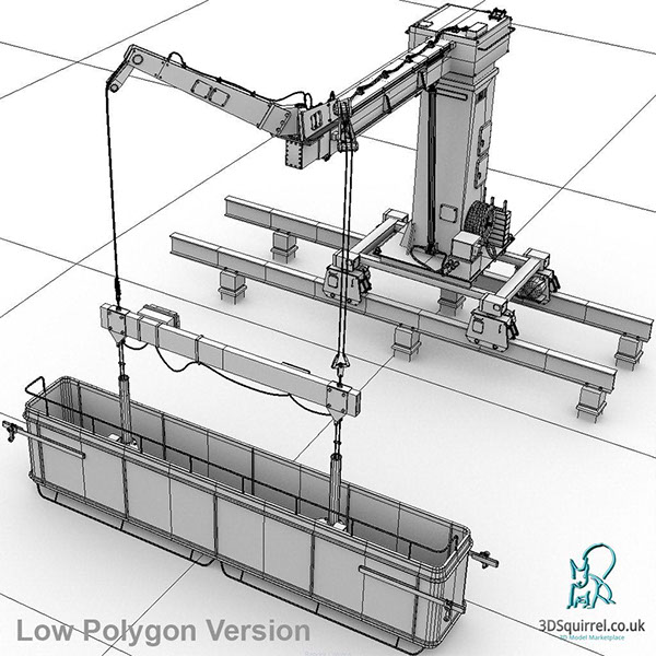 Swing stage platform digital 3d model for sale on behance for Swing stage motors sale