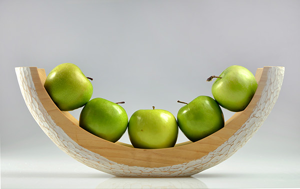 Hand carved fruit bowl on risd portfolios