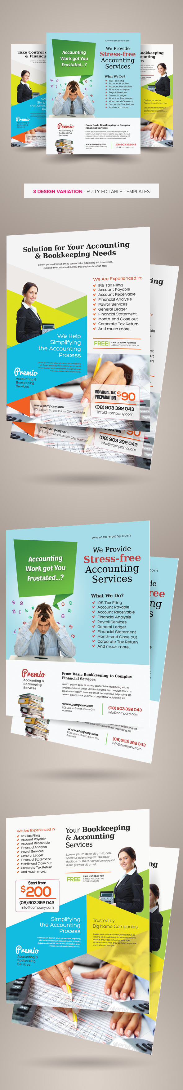 Accounting and bookkeeping services flyers on behance accounting and bookkeeping services flyers are design templates created for sale on graphic river more info of the templates and how to get the sourcefiles pronofoot35fo Gallery