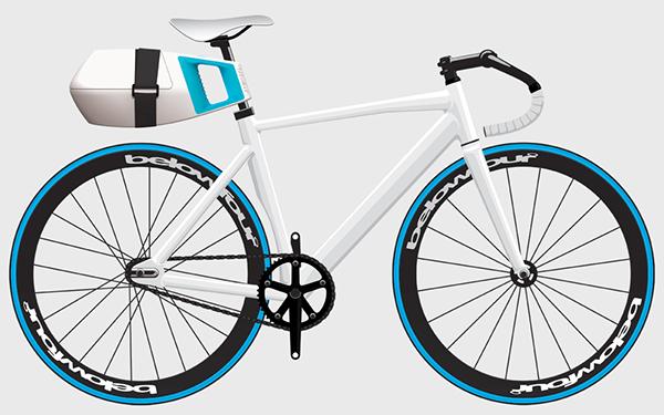 Bicycle product belowfour belowfour° cooler ilya fridman