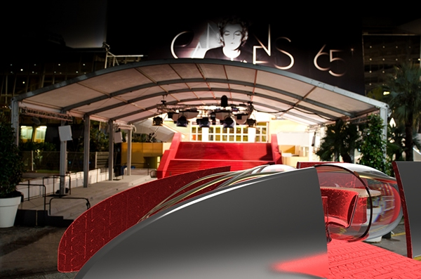 festival de cannes Ecole2Design strate citroen DS automotive   LIMOUSINE