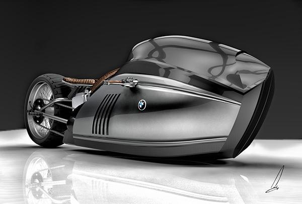 3D art CG industrial product design digital motorcycle Bike