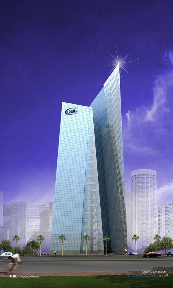 united bank head office building  karachi  pakistan on behance