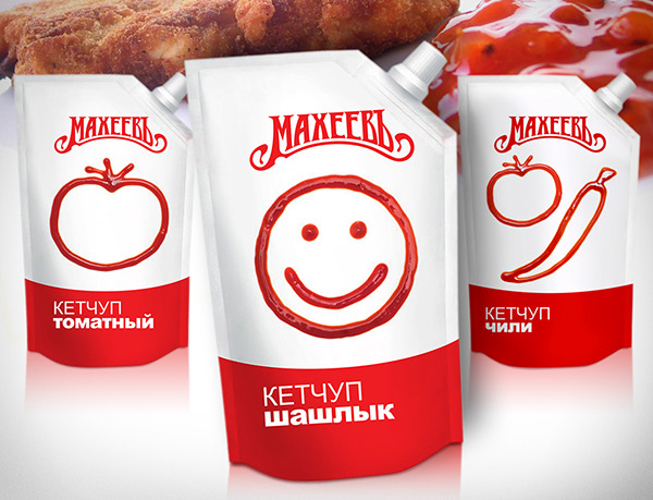 creative ketchup Tomato meal