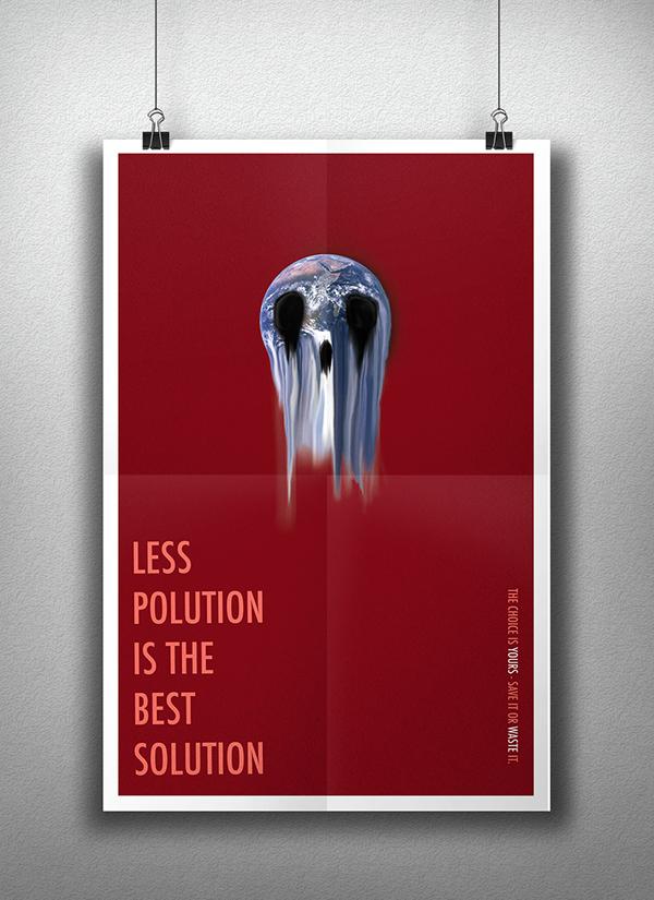 極美的12款愛護地球海報欣賞
