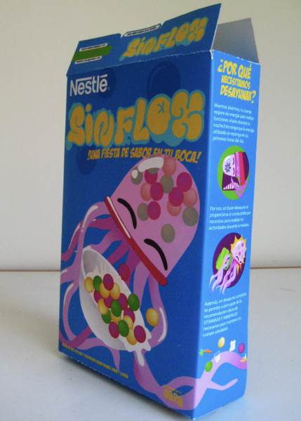 Character design for cereal box on behance for Cereal box project for school