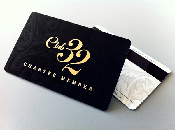 Club 32 Card Design on Behance
