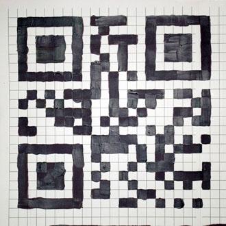 paint acrylic QR Code