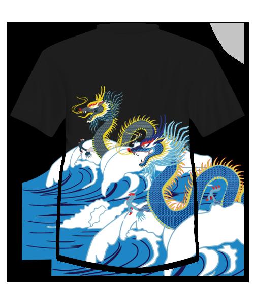 dragon boat race t shirt design on behance