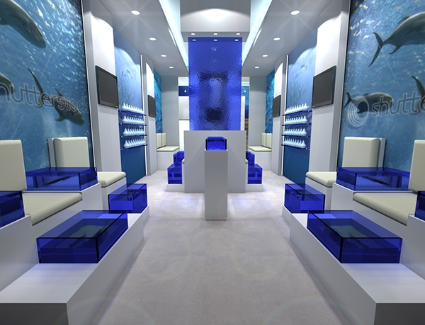 Fish spa in rhodes on behance for Fish spa near me