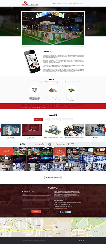 Webdesign Webdevelopment Responsive Design one page design