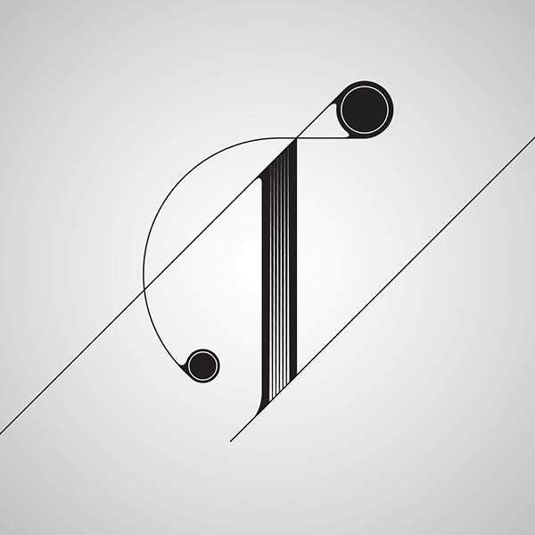 Fontfront letter t and u on behance for Letter t decoration