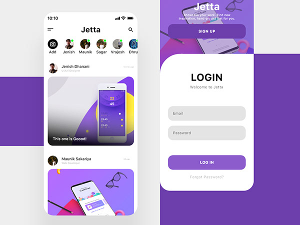 Jetta   Chat App UI