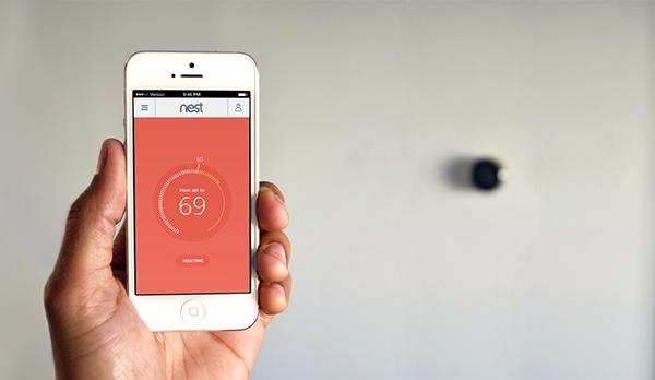 nest ios app design on behance