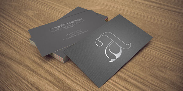 Brand identity business card design on behance brand identity and business card design for a renowned lawyer in cyprus designed by re brand reheart Image collections