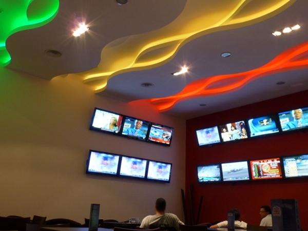 Iluminaci n led casino palace canc n m xico - Iluminacion led techo ...