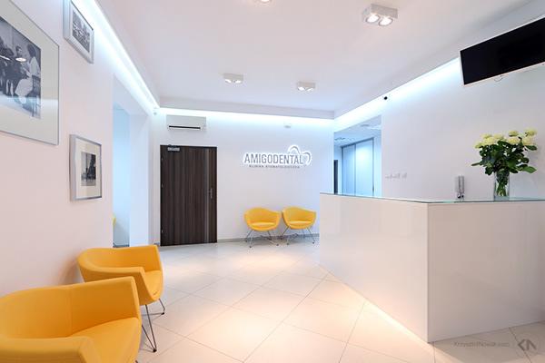 Amigodental Dental Clinic Interior Photography On Behance