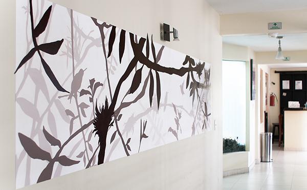 Handmade Wallpainting On Pantone Canvas Gallery