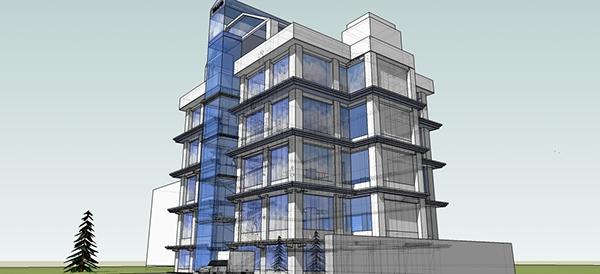 High Rise Building 3d Design Location Kitengela On Behance