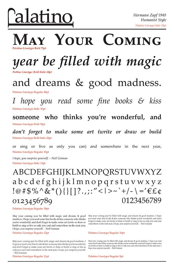Typeface Specimen Sheet Final Type Specimen Sheet