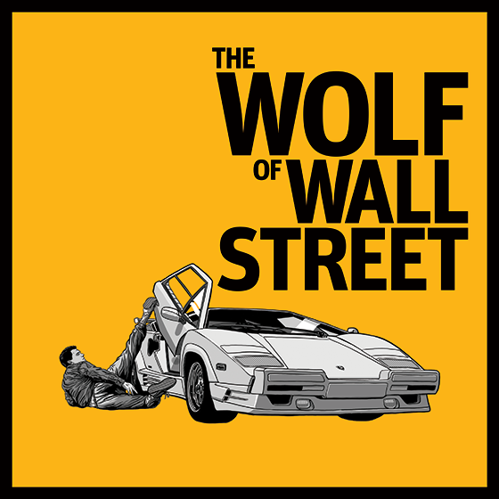 The Wolf Of Wall Street Tribute Artwork On Behance