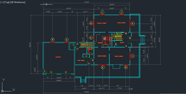 Spec Home Autocad Documents On Behance