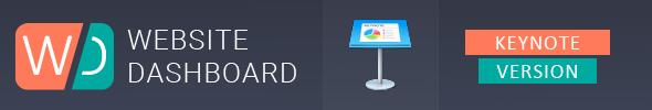 Website Dashboard Presentation Template - 3