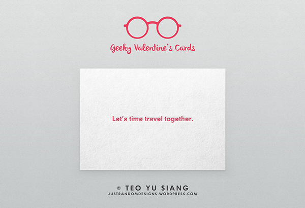 Geeky Valentine S Cards On Behance