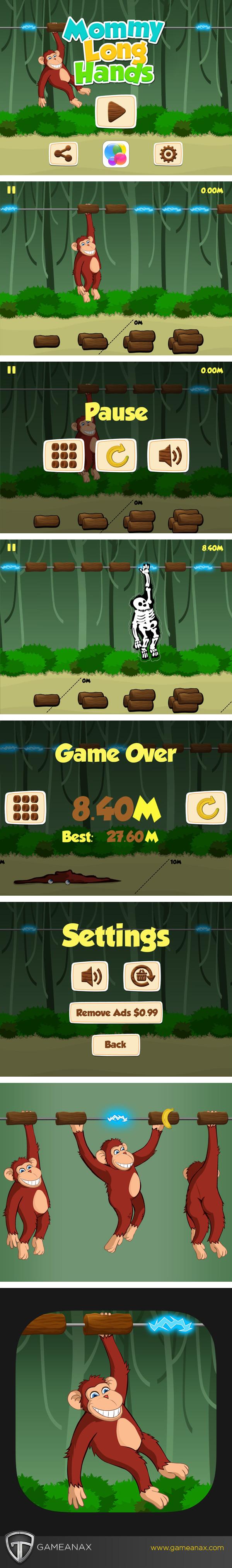 UI ux iphone iPad Gaming Games mobile gaming