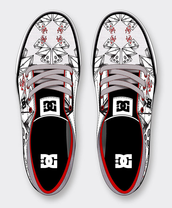 DC Shoes , My Design on Wacom Gallery