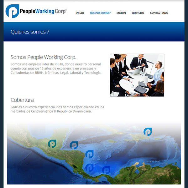 Human Resources HHRR panama company Consulting Technology business Responsive Webdesign