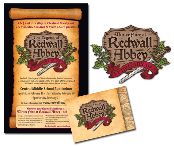 redwall midievel Sword library muscatine children