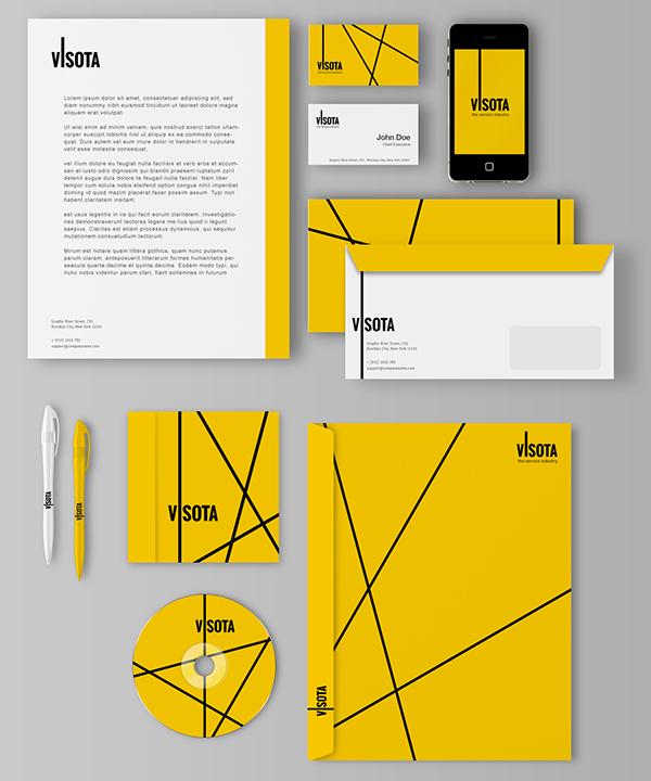 design visota yellow