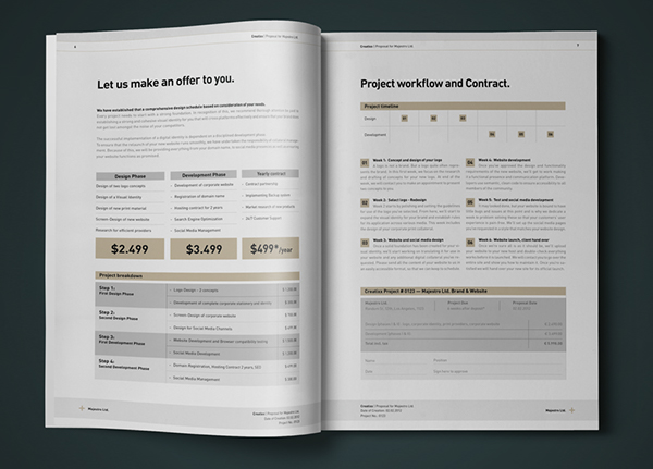 Proposal And Invoice Kit 36 Files In 1 Item On Behance