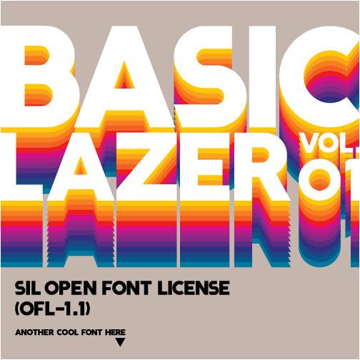 LAZER 84 - Free Font on Behance