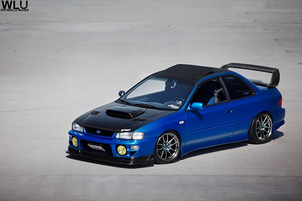 99 Subaru Impreza Rsti On Behance