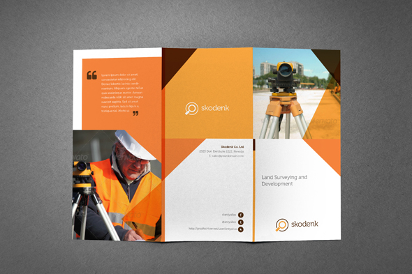 Services Brochure | Multipurpose Professional Services Brochure On Behance