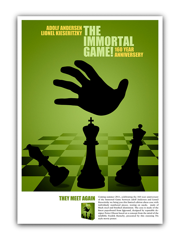 poster for a board game on behance