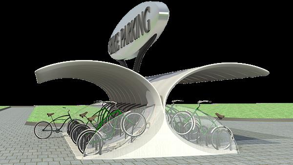 Concepto para parqueadero de bicicletas en exterior on behance for Concepto de exterior