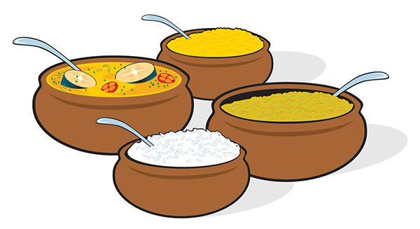 Brazil Food  illustartion caruru