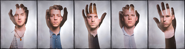 we are rome band music group Radiohead double exposure Promotion Portraiture