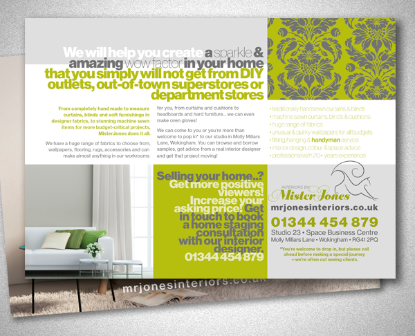 Marketing Material For An Interior Designer On Pantone Canvas Gallery