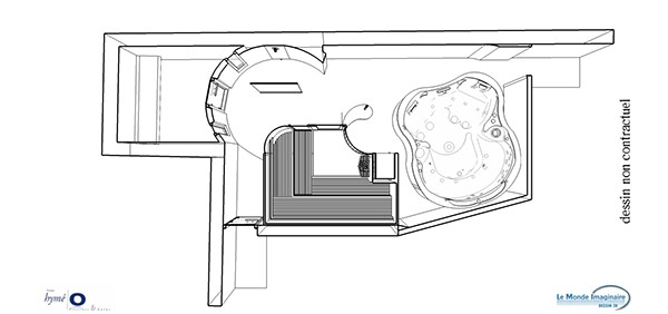 Particulier 8 on behance for Sauna 3d montpellier