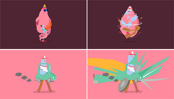 2veinte juan molinet argentina Cel Animation wild woolly frame by frame tradicional animation